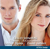 Rachmaninov & Chopin: Cello Sonatas / Denise Djokic, cello; David Jalbert, piano