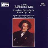 Rubinstein: Symphony no 3, etc / Stankovsky, Slovak Radio SO