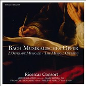 Bach: Musical Offering / Ricercar Consort; Philippe Pierlot