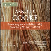 Arnold Cooke (1906-2005): Symphony Nos. 4 & 5 / BBC SO, John Pritchard; BBC Northern SO, Bernard Keeffe