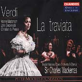 Opera in English - Verdi: La Traviata / Mackerras, Masterson