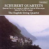 Schubert: Quartets no 11, 8 & 4 / The English String Quartet