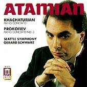 Khachaturian, Prokofiev: Piano Concertos / Atamian, Schwarz