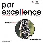 Par Excellence - French Music for Clarinet / Leister, Bognár