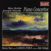Haydn, Kuhn: Piano Concertos /Thew, Tschupp, Camerata Zurich