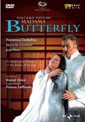 Puccini: Madama Butterfly / Oren, Cedolins, Giordani, Pons [DVD]