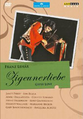 Lehar: Gypsy Love / Perry, Buzea, Dallapozza, Lorand [DVD]