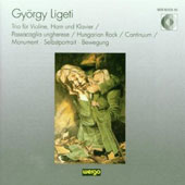 Ligeti. Trio For Vln.horn & Piano. Passacaglia Ungherese