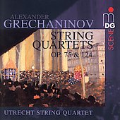 SCENE  Grechaninov: String Quartets / Utrecht String Quartet
