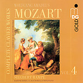 Mozart: Complete Clavier Works Vol 4 / Rampe