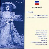 Lehar: Merry Widow (Highlights Sung In English)