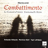 Monteverdi: Combattimento / Ha&#239;m, Villaz&#243;n, Ciofi, Lehtipuu, et al
