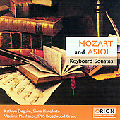 Mozart, Asiolo: Keyboard Sonatas / Deguire