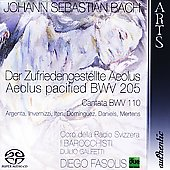 Bach: Cantatas, BWV 205 & 110 / Diego Fasolis, I Barocchisti