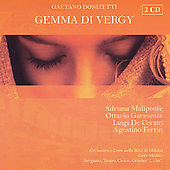 Donizetti: Gemma di Vergy / Meditz, Corato, et al