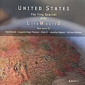 United States: Life Music 2 - Rorem, Higdon, et al