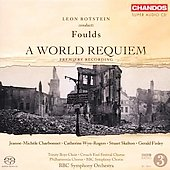 Foulds: A World Requiem / Botstein, Charbonnet, et al