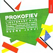 Classics - Prokofiev: Dreams, Autumnal Sketch, Lieutenant Kijé Suite, etc / Neeme Järvi, Scottish NO