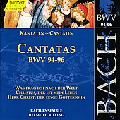 Bach: Cantatas, BWV 94-96