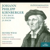 Johann Philipp Kirnberger, et al.: Fl&ouml;tensonaten