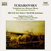 Tchaikovsky: Rococo Variations;  Bruch, Bloch / Kliegel
