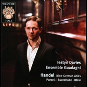 Handel: Nine German Arias / Davies