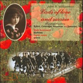 Lads of Love and Sorrow: Songs by J.R. Williamson / Mark Rowlinson, baritone; David Jones, piano
