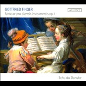 Gottfried Finger: Sonatae pro Diversis Instrumentis Op. 1