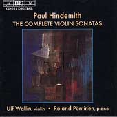 Hindemith: The Complete Violin Sonatas / Wallin, P&#246;ntinen