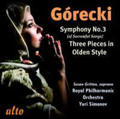 G&#243;recki: Symphony No. 3 