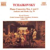 Tchaikovsky: Piano Concertos 1 & 3, etc / Glemser, Wit