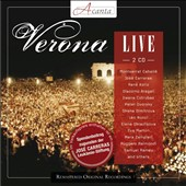 Jos&eacute; Carreras: Verona Live, with Caball&eacute;, Kollo, Cotrubas, Nucci, Dimtrova, Raimondi, Ramey, Marton et al. / Jos&eacute; Carreras, tenor