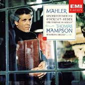 Mahler: Kindertotenlieder, etc / Hampson, Rieger