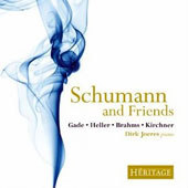 Schumann and Friends - works by Gade, Heller, Brahms, Kirchner / Dirk Joeres, piano