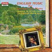 English Music for Clarinet and Piano / De Peyer, Pryor