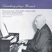 Gieseking plays Mozart - Piano Concertos and Sonatas