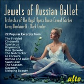 Jewels of Russian Ballet: 22 popular highlights by Drigo, Glazunov, Khachaturian, Prokofiev, Stravinsky, Tchaikovsky / Royal OH Covent Garden Orch.