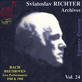 Sviatoslav Richter Archives, Vol. 24: Bach & Beethoven Recitals, 1948 & 1968