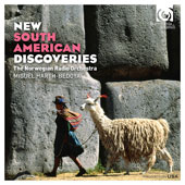 New South American Discoveries / Miguel Harth-Bedoya, The Norwegian Radio Orchestra