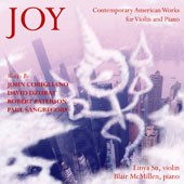 Contemporary American Works for Violin and Piano by John Corigliano, David Dzubay, Robert Paterson, Paul SanGregory / Linya Su, violin; Blair McMillen, piano