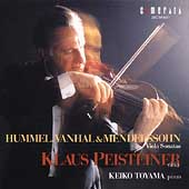 Hummel, Vanhal, et al: Viola Sonatas / Peisteiner, Toyama