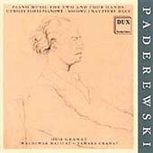 Paderewski - Piano Music for Two and Four Hands / Duo Granat
