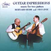 Guitar Impressions - Music for Two Guitars / Hebb, Svitt