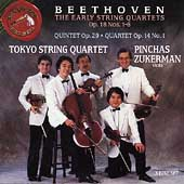 Beethoven: The Early String Quartets / Tokyo String Quartet