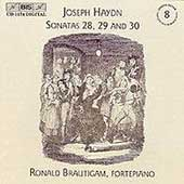 Haydn: Keyboard Sonatas Vol 8 / Ronald Brautigam