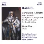 Handel: Coronation Anthems, etc / Summerly, Ryan, et al