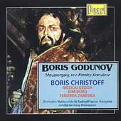 Mussorgsky: Boris Godunov / Dobrowen, Christoff, Gedda, etc