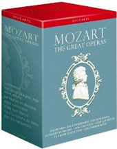 Mozart: The Great Operas / Performances from Glyndebourne, La Scala, Salzburg etc. with Susan Graham, Christopf Pregardien, Magdalena Kozena et al.  [13 DVD]