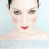 Vivaldi: Arie per basso / Regazzo, Alessandrini, et al