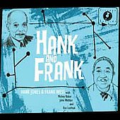 Hank Jones (Piano): Hank and Frank [Digipak]